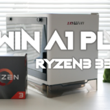 【自作PC】In Win A1 PLUSとRyzen 3 3300Xで組む!白くて小さい自作PC